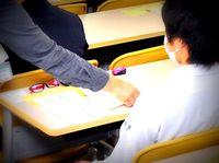 解答用紙ではなく模範解答を配付 沖縄大学入試 全員正解に