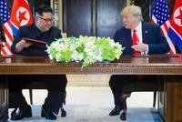 北朝鮮、完全非核化を約束 米は正恩氏の体制保証、首脳会談