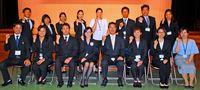伊江の新任職員 31人に辞令交付/子の教育に力注ぐ