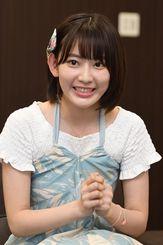 HKT48も兼務する宮脇咲良さんは「九州も、沖縄も盛りあげていきたい」と意欲