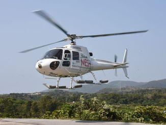 (資料写真)MESHの救急ヘリ