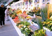 山や海の恵み 県産品一堂に 花と食のフェスティバル きょうまで