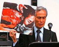 被爆体験 核廃絶貫く/谷口さん死去「赤い背中」の少年