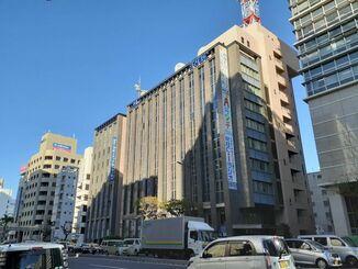 (資料写真)琉球朝日放送が入居するビル