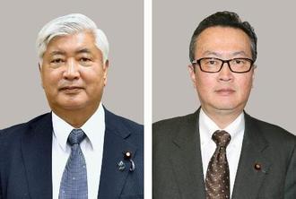 中谷元氏、船田元氏