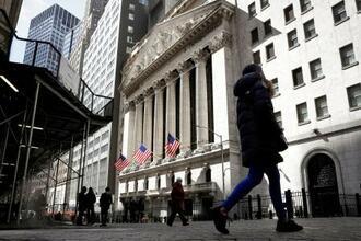 ニューヨーク証券取引所=3月19日(ロイター=共同)