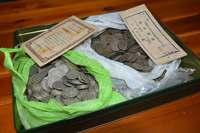 沖縄戦の記憶刻む硬貨 父が隠し戦後も保管 子孫の「家宝」に