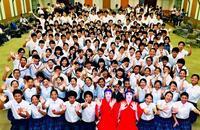 組踊、合唱、オーケストラ…自分らしく 高文祭・中文祭へ出場370人が決意