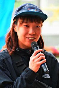 「国策に声 なぜ批判」/大阪の朴さん 辺野古訪問
