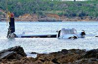 沖縄の富川副知事「納得できない」 名護のオスプレイ墜落 米軍が県に報告