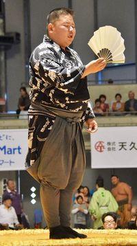 「土俵に立てることが幸せ」 白血病を克服、沖縄出身の呼び出し・宮城圭佑さん