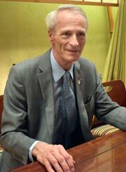 インタビューに応じるルノーのジャンドミニク・スナール会長