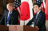 日米、北朝鮮へ圧力最大限 トランプ氏、武器購入など要求