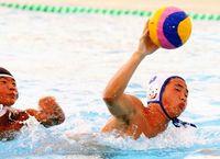 フリッパーズ決勝へ 水球JOCジュニア九州