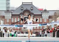 東京マラソン、設楽悠太が2位 16年ぶり日本新、チュンバ優勝