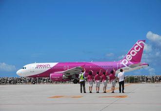 (資料写真)ピーチ・アビエーションの機体