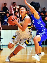 西原(女子)豊見城(男子)V2/県高校バスケ小橋川杯