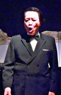 イタリア・ミラノで熱唱 沖縄出身のオペラ歌手・泉恵得さん
