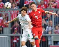 サッカー、大迫は後半途中出場 ドイツ1部
