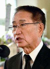 翁長知事告別式:平和求める心「歴史に」 真栄田篤彦・県政策参与