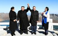 南北首脳、白頭山を訪問へ 北朝鮮の「革命の聖地」