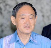 「『オール沖縄』が現実と違っている」 菅官房長官、うるま市長選挙受け指摘