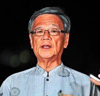 翁長知事「大勝利だ」沖縄県議選、与党系で過半数