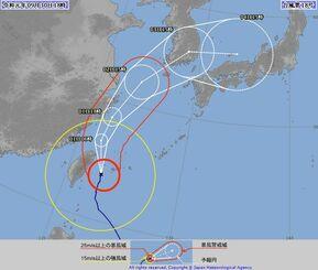 【気になる進路図】4日に本州を直撃か