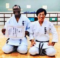 米国で空手道場の夢近付く 沖縄拳法師範にウイリアムさん「伝統の型守る」