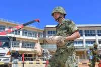 学校内の不発弾発見、5年で67件 戦後73年の沖縄 避難処理は5件
