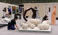 70回の記念展 沖展きょう21日開幕 25日は創作体感「アートフェス」も開催