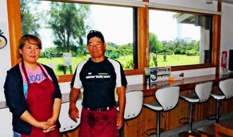 粟国村で唯一、ほぼ毎日開いている飲食店「喫茶まはな」