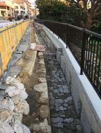 明治以前の旧水路遺構、首里で発掘 全長約60メートル「さらに残っている可能性も」