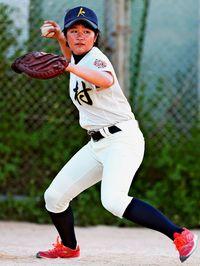 [沖スポプラス]/強肩武器にプロ入団へ/金城妃呂 神村学園高3年 来月にも女子野球契約/期待に応える捕手に