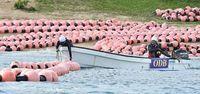 辺野古新基地:週内に国内最大級掘削船を投入 沖縄防衛局