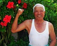 腕立て150回・縄跳び200回が日課 沖縄の87歳おじいちゃん