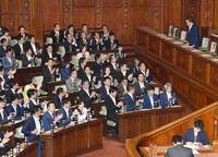 「共謀罪」法案が衆院通過 与党、採決を強行