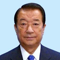 江崎鉄磨沖縄担当相