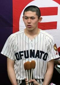 高校野球、佐々木は剛速球を封印 最速139キロ、3回無失点