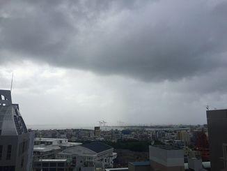 雨が降ったりやんだり、傘が手放せない1日でした。
