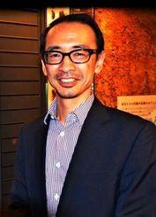 祖先がたどってきた道を解明するプロジェクトについて語る海部陽介さん=東京・国立科学博物館