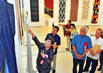 「国展工芸沖縄展」、那覇市の県立博物館・美術館で開催中です