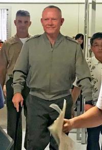 米四軍調整官、沖縄・高江ヘリ炎上で県に謝罪 着陸帯の使用中止も検討