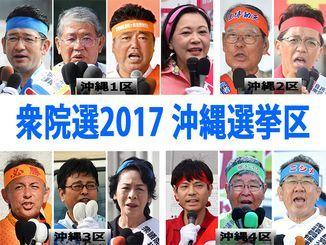 沖縄選挙区の候補者