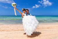婚礼写真を豪雨被災地の力に 沖縄の写真スタジオ「義援金付きプラン」