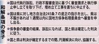辺野古代執行訴訟が和解、工事中止 首相は移設先変更せず