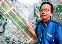 日米安保背負う住民に配慮を B52墜落から50年、當山宏嘉手納町長に聞く