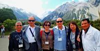 NZの世界遺産「アオラキ・クック山」で自然美に触れる タイムス海外市場視察団