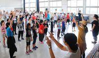 「尚寧王」出演者 本番へ練習開始/浦添 市民参加ミュージカル