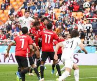エジプト0―1ウルグアイ 終了直前にヒメネス決勝点